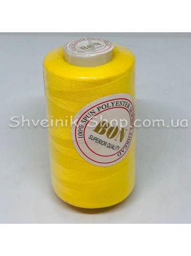 Нитка  №40 цвет Желтая в упаковке 3650 метров