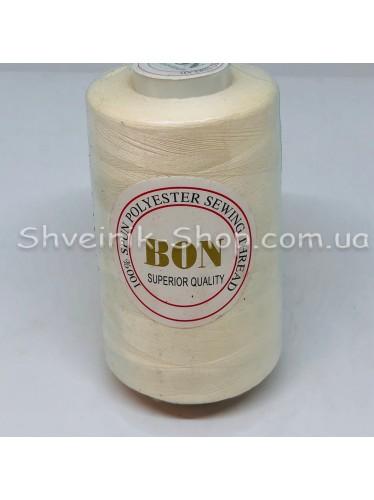 Нитка  №40 цвет Молоко  в упаковке 3650 метров