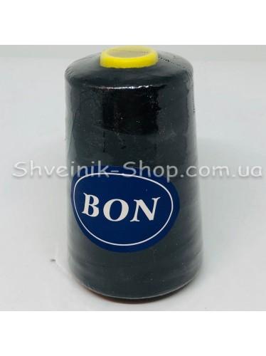 Нитка  №40 цвет Черная в упаковке 3650 метров