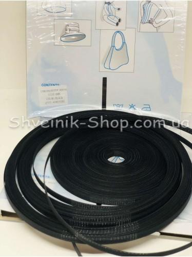 Регилин Жесткий Карсетный Размер :  6 мм Цвет Черный в упаковке 46 метров