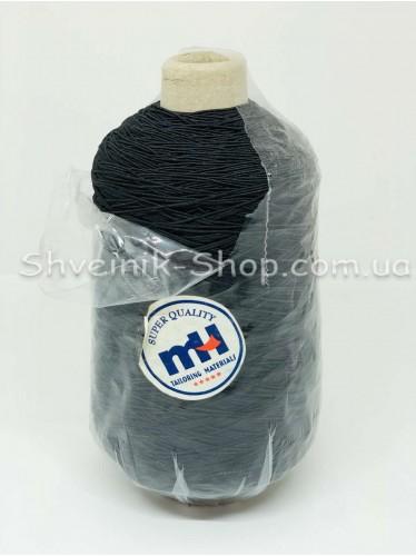 Нитка Резинка 400 грамм цвет Черный в упаковке 400 грамм