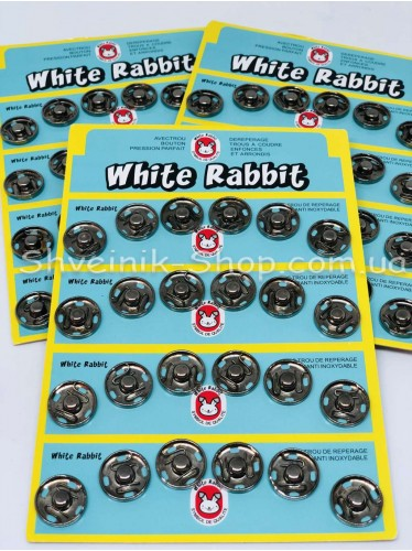 Кнопка Пришивная Металическая Размер 1,6 cм Цвет Блек Никель Количество Цена за лист на листе 24 кнопки