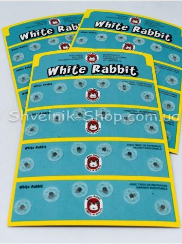 Кнопка Пришивная Пластиковая Размер 0,9 см Цвет Прозрачный в Упаковке 6 листов 144 кнопки