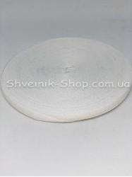 Киперная лента х/б ширина 1,0 см в упаковке 46м Цвет: белый