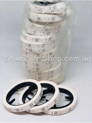 Размерники для Одежды Размер XXL в упаковке 20 колец  300 штук