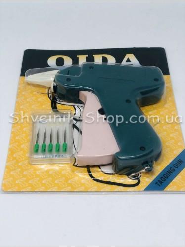 Пистолет Бирочный для одежды с иголкой в упаковке иголок 5 штук