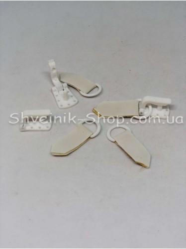 Шубный Крючек Пластиковый Цвет Белый в упаковке 100 штук