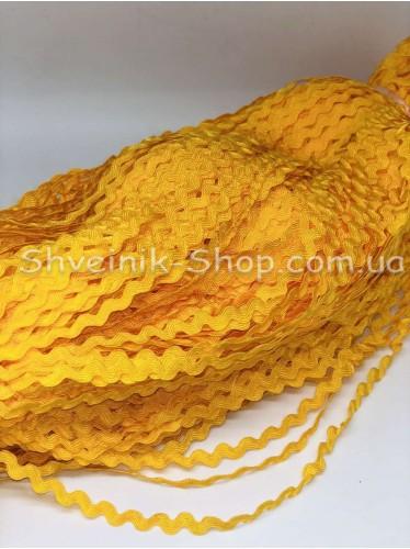Вьюнок  Ширина 6 мм цвет Желток в упаковке 230 метров