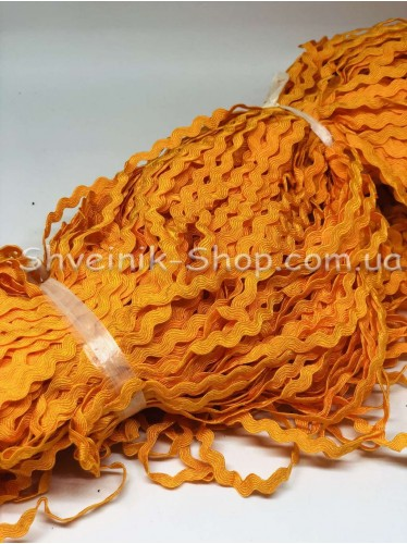 Вьюнок  Ширина 6 мм цвет Оранжевый в упаковке 230 метров