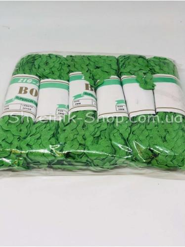 Вьюнок  Ширина 6 мм цвет Зеленый в упаковке 138 метров