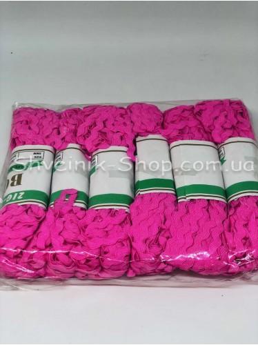 Вьюнок  Ширина 6 мм цвет Розовый в упаковке 138 метров