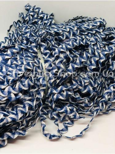 Вьюнок Порча Ширина 7мм Цвет Синий+Белый  В упаковке 230 метров