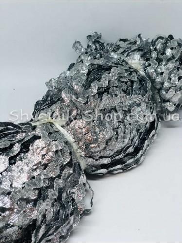 Вьюнок Порча Ширина 7мм Цвет Серебро  В упаковке 230 метров