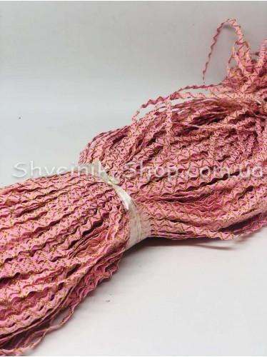 Вьюнок Порча Ширина 5мм Цвет Розовый  В упаковке 230 метров
