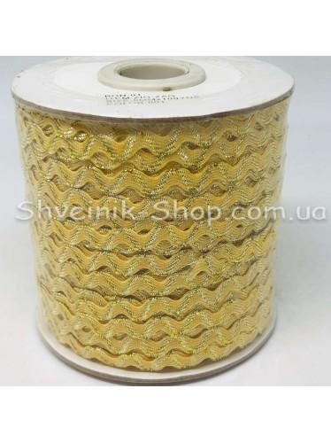 Вьюнок Порча Ширина 5мм Цвет Светло желтый  В упаковке 92 метров