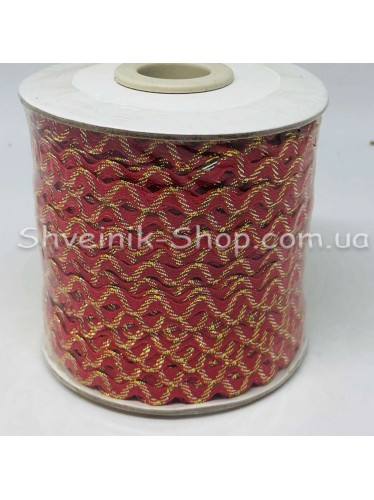Вьюнок Порча Ширина 5мм Цвет  Красный В упаковке 92 метров