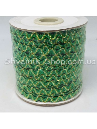 Вьюнок Порча Ширина 5мм Цвет Зеленый  В упаковке 92 метров