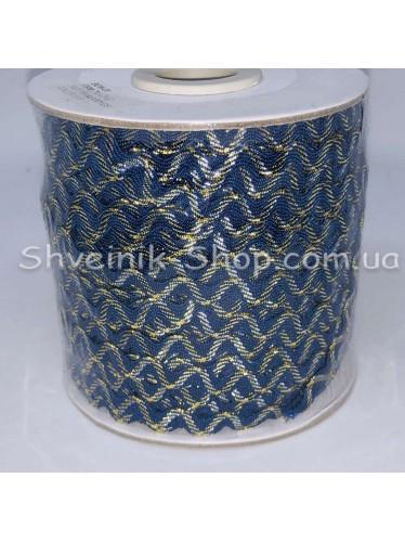 Вьюнок Порча Ширина 5мм Цвет  Синий В упаковке 92 метров
