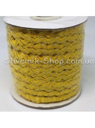 Вьюнок Порча Ширина 5мм Цвет  Желтый В упаковке 92 метров