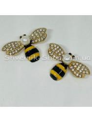 Брошка Пчела  Размер : 2,5*4 cm Цвет  Золото в упаковке 50 штук цена за упаковку
