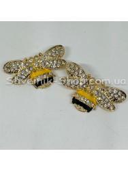 Брошка Пчела Размер : 2*1,5 cm Цвет  Золото в упаковке 50 штук цена за упаковку