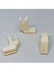 Лапка для промышленных швейных машин  #YJK3CJ1 для потайной змейки (Тефлон)