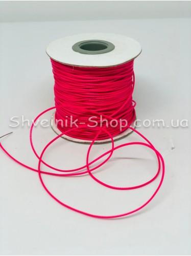 Шнур вощённый 2мм цвет: Малина в бобине 100м цена за бобину