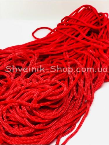 Шнур спорт 5мм цвет: Красный в упаковке 100м цена за упаковку