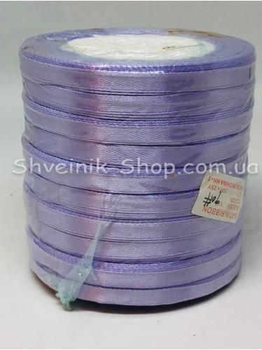 Лента атласная (Сатиновая лента) Ширина 0,6см Цвет: Сирень  в упаковке 230 метров цена за упаковку