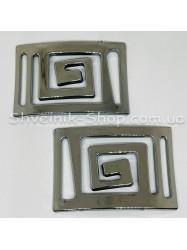 Пластиковая протяжка версаче Цвет: темное серебро Размер: длина 9 см ширина 6 см внутренняя ширина 4,4 см в упаковке 100 шт цена за упаковку