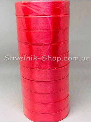 Лента атласная (Сатиновая лента) Ширина 2см Цвет: Коралл в упаковке 230 метров цена за упаковку