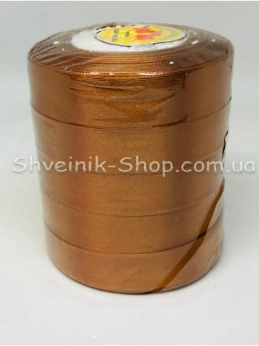 Лента атласная (Сатиновая лента) Ширина 2см Цвет: Рыжий в упаковке 115 метров цена за упаковку