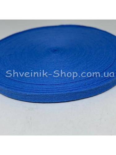 Киперная лента х/б ширина 1,0 см в упаковке 46м Цвет: джинс