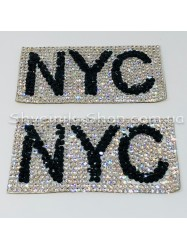 Аппликации Камень  NYC 50 штук размер 4*8 в упаковке цена за упаковку