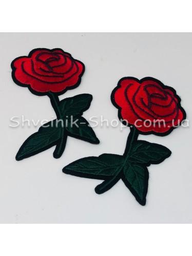Аппликация Роза Размер 10*5,5 в упаковке 50 штук