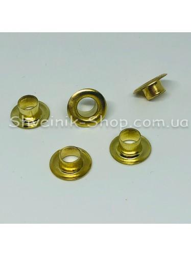 Блочка #4 Диаметр внутренний : 7мм Цвет : Золото в упаковке 4000 штук цена за упаковку ( Турция)
