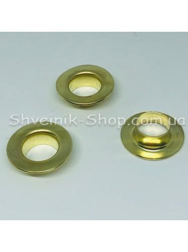 Блочка #28 Диаметр внутренний : 14мм Цвет :  Золото в упаковке 1000 штук цена за упаковку ( Турция)