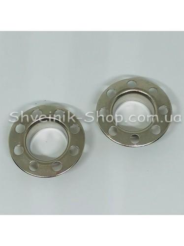 Блочка #28 С Дыркой Диаметр внутренний : 14мм Цвет :  Серебро в упаковке 1000 штук цена за упаковку ( Турция)