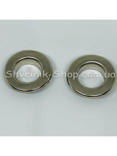 Блочка #31  Диаметр внутренний : 18мм Цвет :  Серебро в упаковке 500 штук цена за упаковку ( Турция)