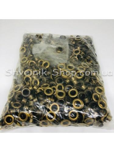 Блочка #5 c подставкой Диаметр внутренний : 9мм Цвет :  Антик в упаковке 1000 штук цена за упаковку ( Китай)