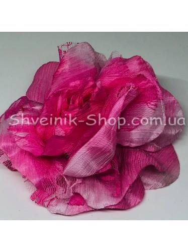Цветы на булавке диаметр 12 см цена за шт Цвет: розовый