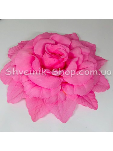 Цветы на булавке диаметр 20 см цена за шт Цвет: розовый
