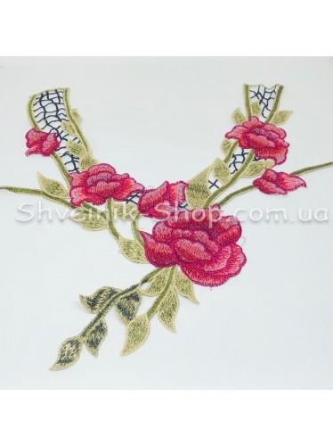 Горло Вязаное  Длина 33 см Цвет Цветное цена за 1 штуку