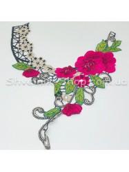 Горло Вязаное  Длина 35 см Цвет Цветное цена за 1 штуку