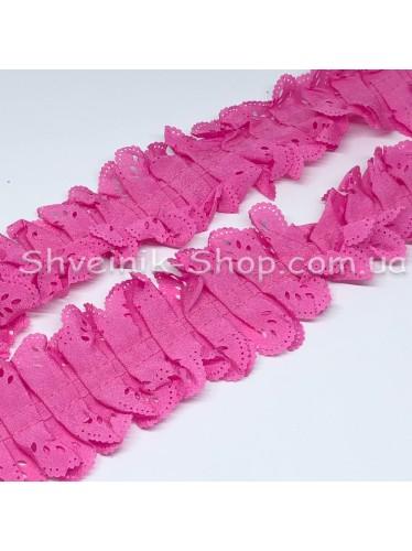 Рюшик Ширина : 5 см Цвет :  Розовый в упаковке 23 метра