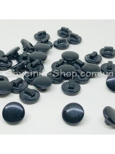 Пуговица на ножке пластиковая Размер : 10мм цвет : Черный в упаковке 1000 штук
