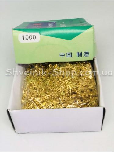 Булавка английская бирочная золото 1000шт в упаковке  цена за упаковку