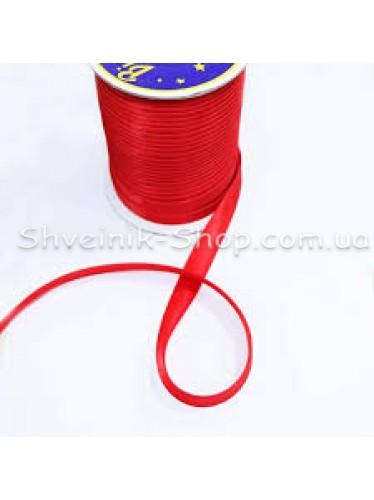 Бейка Размер 1,5 см в упаковке 110 метров Цвет : Красный