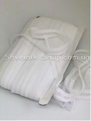 Резина Сетка Ширина 2 см в упаковке 46 метров цвет : Белый