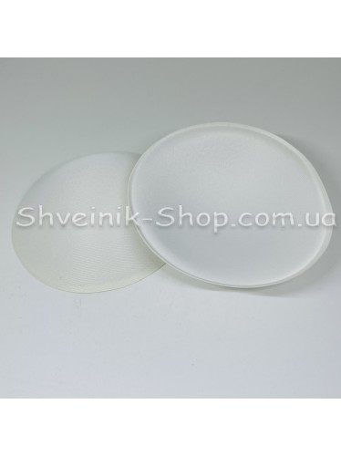 Чашка круглая вкладка диаметр 12 см цвет белый в упаковке 25 пар